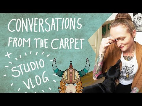 Day in the life of a freelance illustrator + Story time