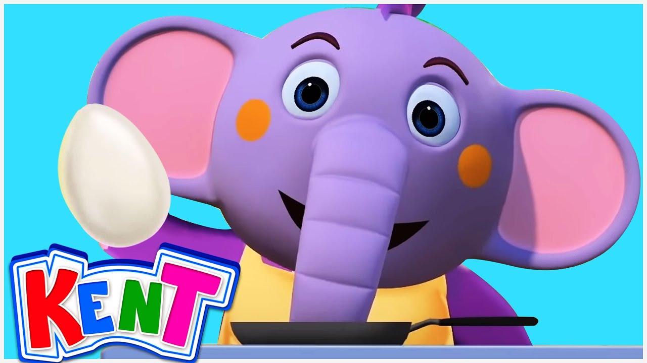 Would You Like To An Egg? 🍳  Kent The Elephant | Nursery Rhymes & Kids Songs