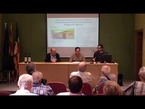 Presentació de l'Arxiu Gavín al Centre Comarcal Lleidatà de Barcelona