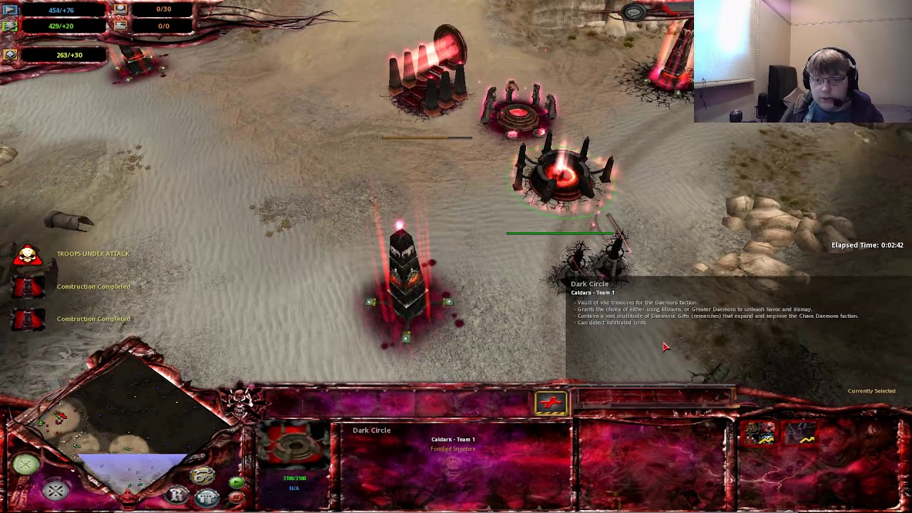 Warhammer 40K - Dawn of War Soulstorm : Ultimate Apocalypse 1 88 72  (Streamed 08/09/2019)