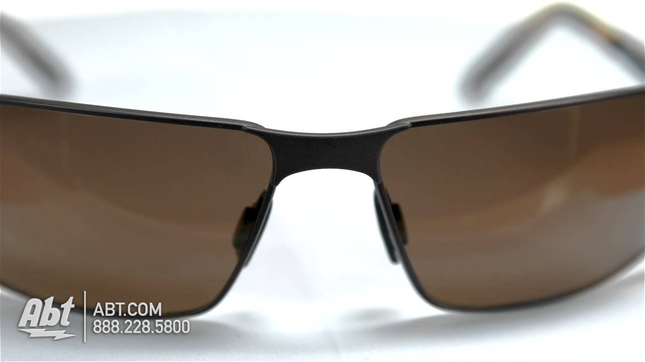 dcc4f9facd4 Maui Jim Castaway HCL Bronze Mens Sunglasses H18701M Overview - YouTube