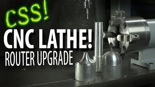 CNC LATHE?! - Router Add-On!
