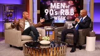 Montell Jordan sits down with Steve Harvey