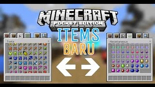 SHOWCASE | Banyak Item Baru!!? - Minecraft PE