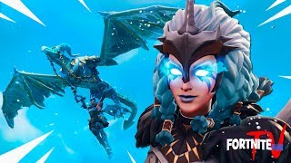 NEW EPIC Frostwing Glider and Valkyrie Skin!! Fortnite Battle Royale! Fortnite Short Film