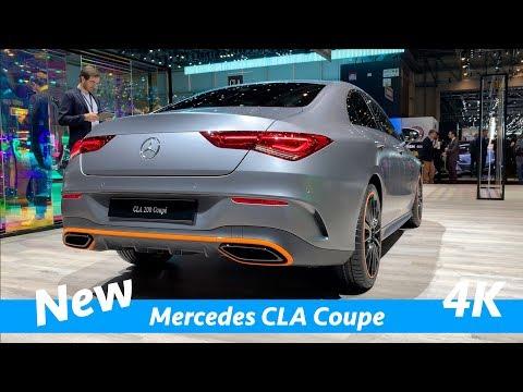 Rem Kopling & Pemotretan Mercedes CLA 2019 - Tampilan Pertama Dalam 4K | Edisi 1 & Garis AMG