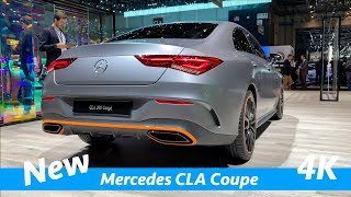 Mercedes CLA 2019 Coupé and Shooting Brake - FIRST look in 4K | Edition 1 & AMG line