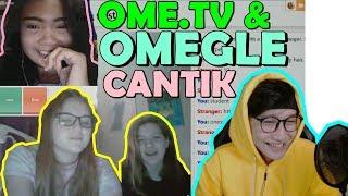 ABG CANTIK INDO VS BULE CANTIK OMEGLE