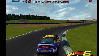 """[TAS] PSX TOCA Touring Car Championship """"max points"""" by Mothrayas in 10:37:18.72"""