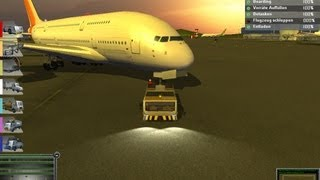 Airport Simulator 2013 Plane Depature [1080p]