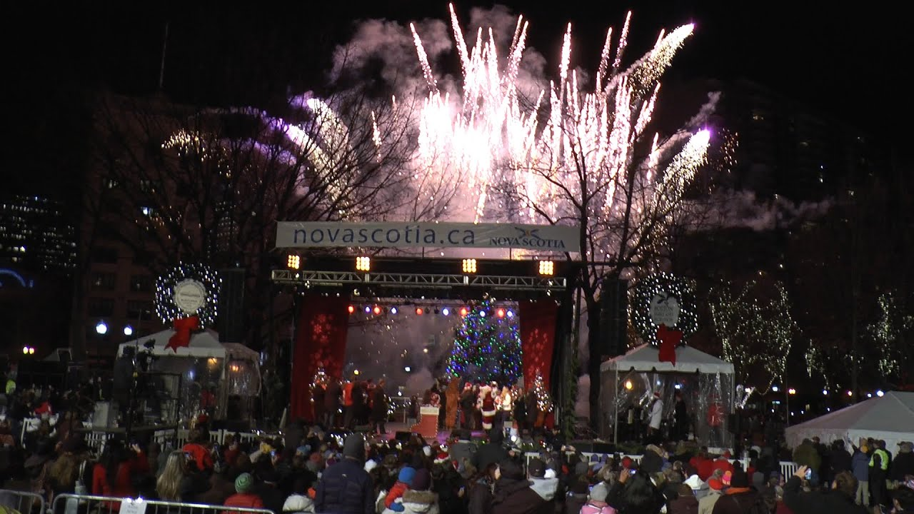 Boston Common Tree Lighting Ceremony 2014 Grand Finale! YouTube - Boston Christmas Tree Lighting