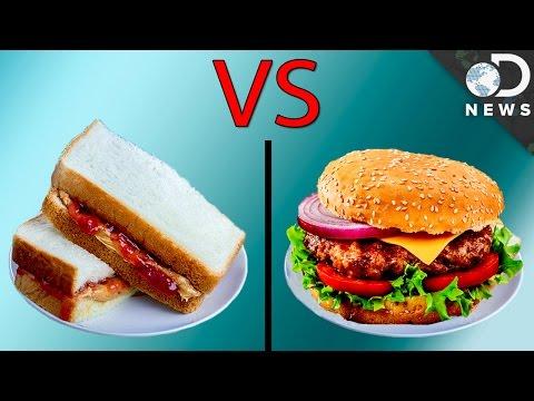 Is A PB&J Worse Than A Cheeseburger?