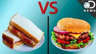 Is A PB&J Worse Than A Cheeseburger?