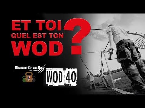 Tuto Sport - le WOD du 40e RA - N°9
