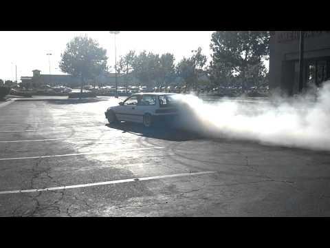 EF Civic Burnout