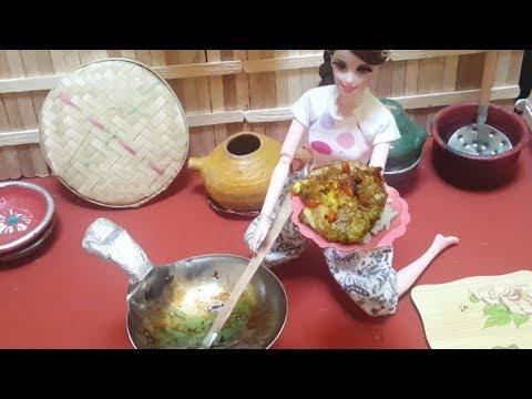 Masak Nasi Telor Untuk Bawang Merah Cerita Barbie Bahasa Indonesia Terbaru Youtube