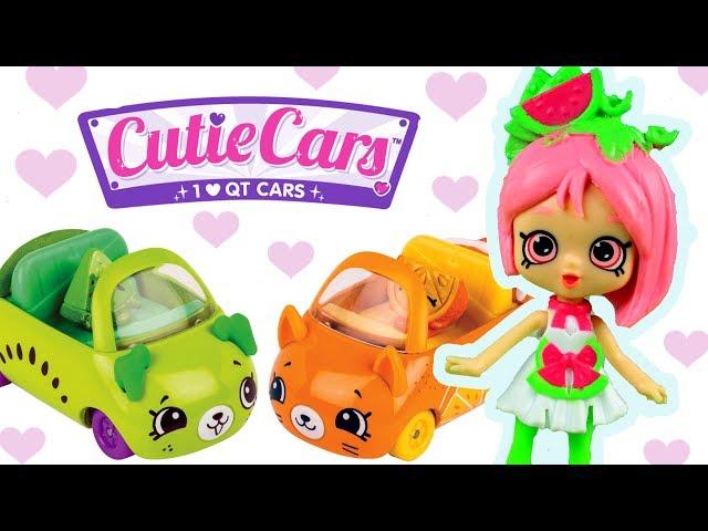 Shopkins Cutie Cars • Autosłodziaki • Przejażdźka z Pippą Melon • bajki dla dzieci