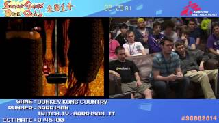 Summer Games Done Quick 2014 - Part 5 - Donkey Kong Country
