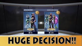 Fortnite Season 6 Battle Pass vs Bundle Pass | Fortnite Battle Royale Tier 100