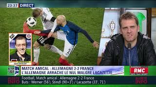 After Foot du mardi 14/11 – Partie 3/4 - Débrief d'Allemagne/France (2-2)