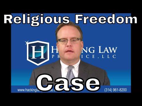 St. Louis Asylum Attorney Jim Hacking Discusses New National Origin & Religious Freedom Case