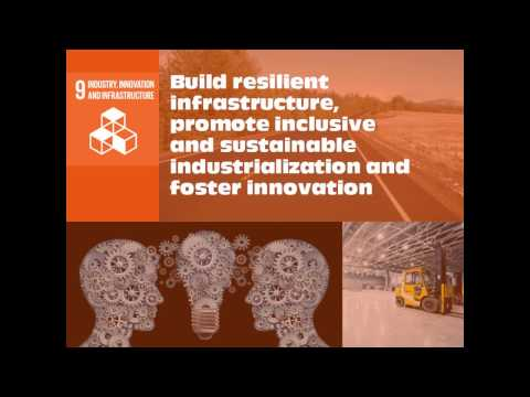 SDG 9- Industry, Innovation and Infrastructure- Ted talks