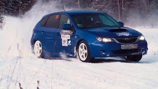 Subaru Team Russia  Winter Cup 2015. Ралли-спринт 'Зеленоград'