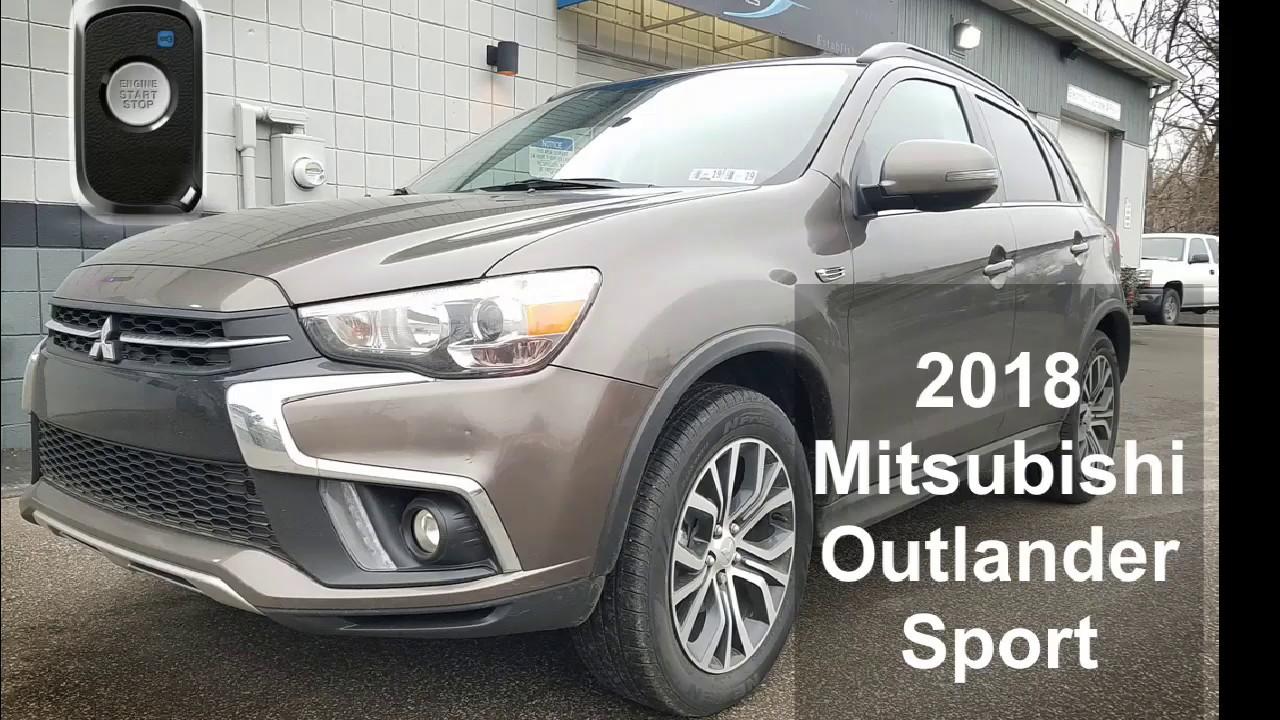 Client Returns To Add Remote Start To 2018 Mitsubishi Outlander Sport