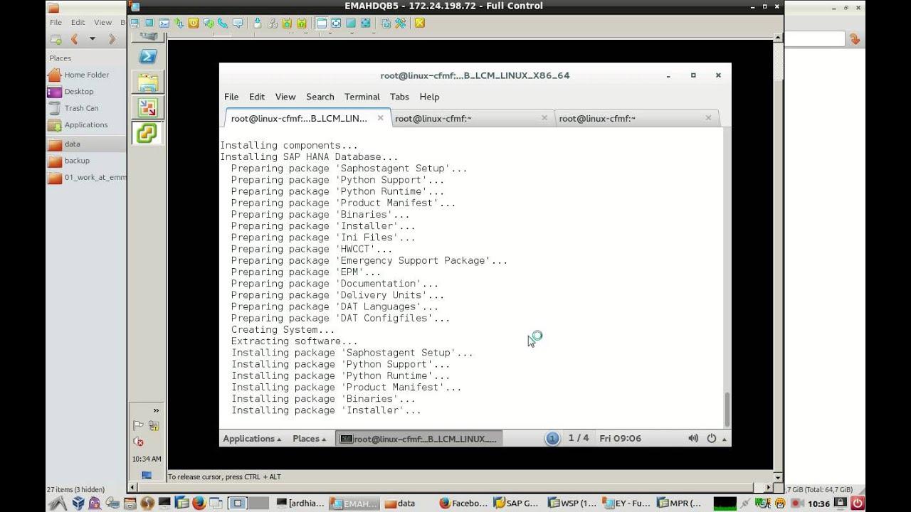 video install sap hana on suse linux enterprise server 12
