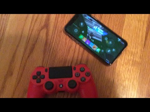 How To Connect a PS4 Controller to a iPhone new 2019