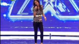 The X-Factor 2010  Auditions 3 Kirsty Read (Xtra Factor) Valerie - Amy whinehouse