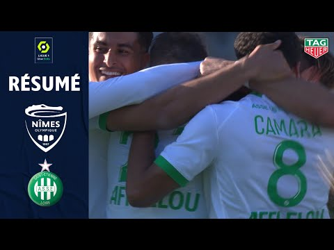 Nimes St. Etienne Goals And Highlights