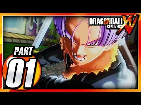 Dragon Ball Xenoverse PS3: Part 1 - Prologue & Character Creation