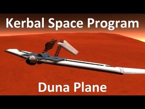 Kerbal Space Program - Solar Powered Duna Plane - Example ...