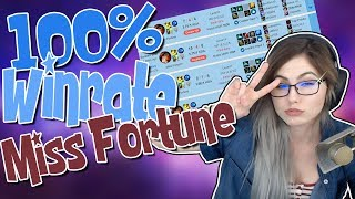 100 WINRATE MISS FORTUNE Nicki Taylor