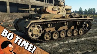 "War Thunder - Panzer III J ""When You Keep Getting Abandoned Factory"""