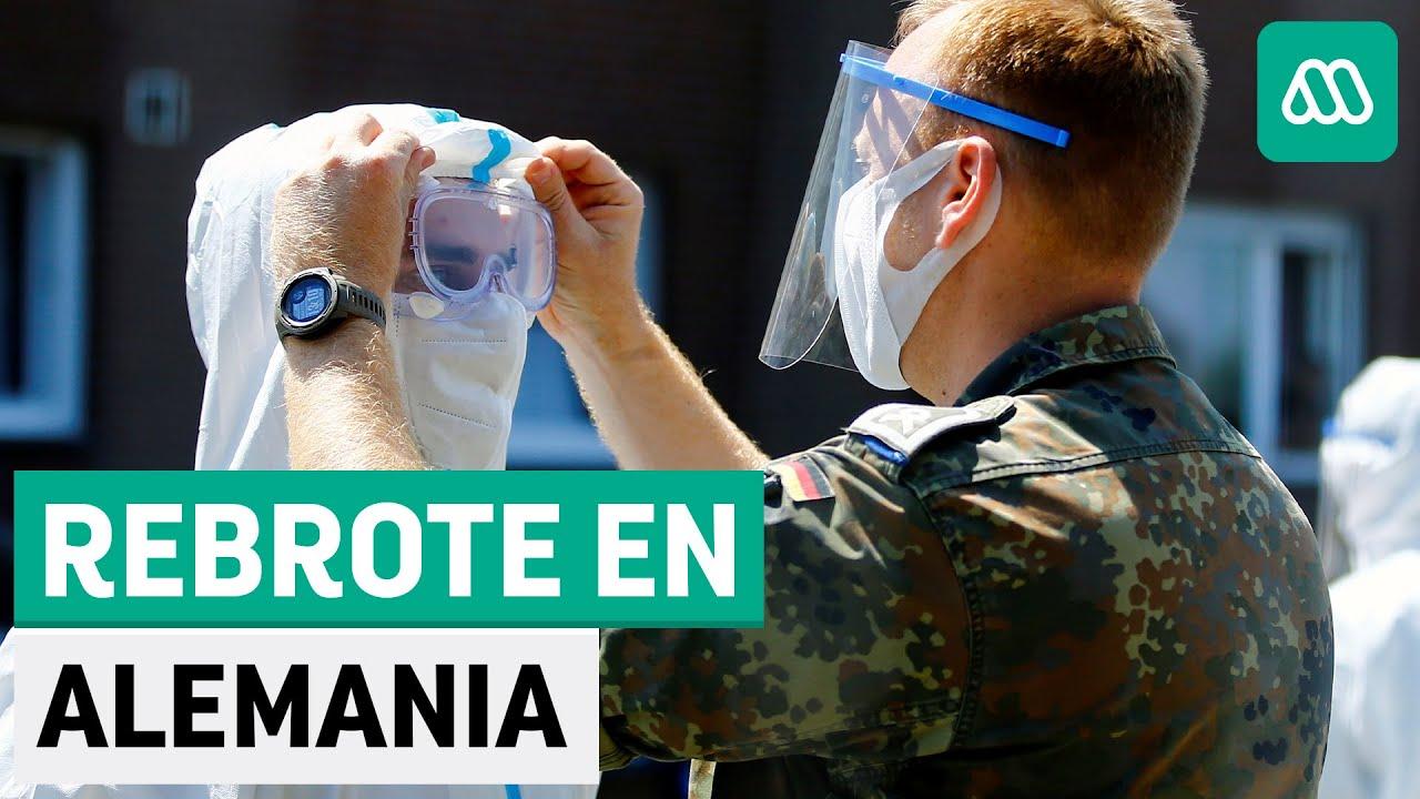 Alemania |Masivo rebrote de coronavirus con 1500 casos