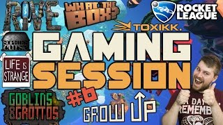 "Gaming Session Episode #6 ""Grow Up, What The Box? Life Is Strange AND MORE!"""