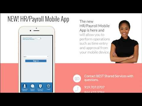 Introduction To The HRPayroll Mobile App