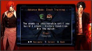 KOF Collection: The Orochi Saga - Challenge 01 - Advance Mode: Stock Training