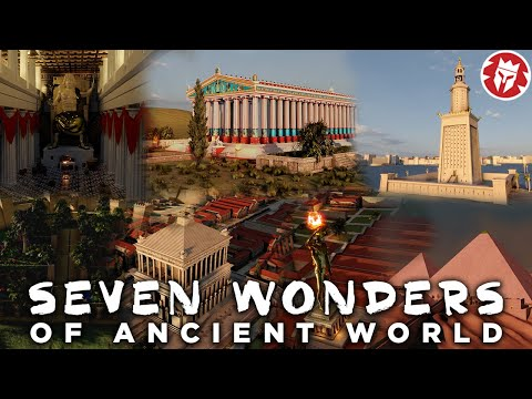 Seven Wonders of the Ancient World - 3D DOCUMENTARY
