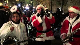 Weihnachtsjazz mit MUCKEFUCK - Live @ Nikolausmarkt Dorsten 2014