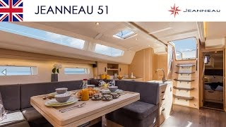 Jeanneau 51 - Interior layout - Jeanneau Yachts