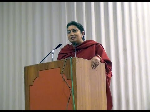 A nationwide launch of 'Awakened Citizen Programme' by Hon'ble HRD Minister Smt. Smriti Irani