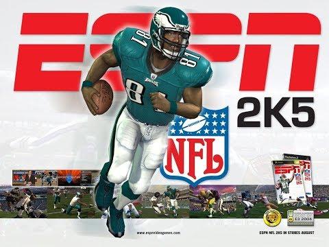 ESPN NFL 2K5 In [4K]   RETRO REMASTERED   HipHopGamer Live