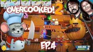 Watch for Flying Food! Overcooked 2 | Ep.4