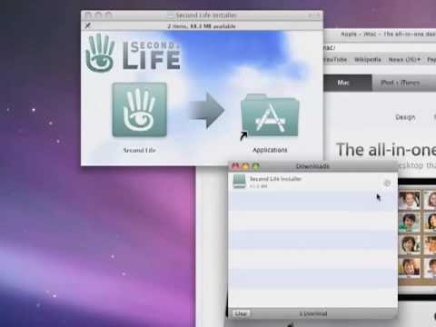 How to download and install Second Life on your Mac
