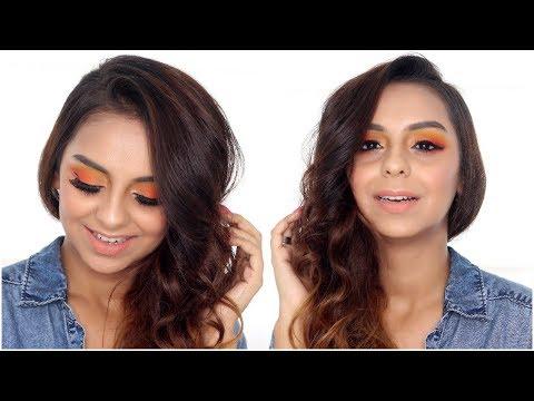 Summer Sunset Inspired Makeup Tutorial | What When Wear