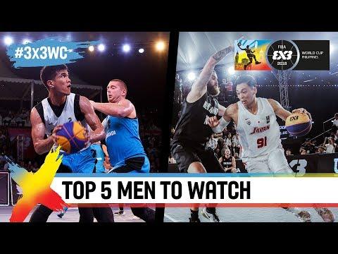 Top 5 men to watch in Manila | FIBA 3x3 World Cup 2018