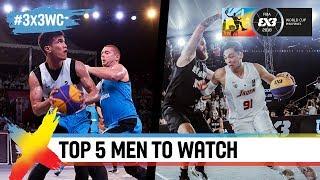 Top 5 men to watch in Manila   FIBA 3x3 World Cup 2018